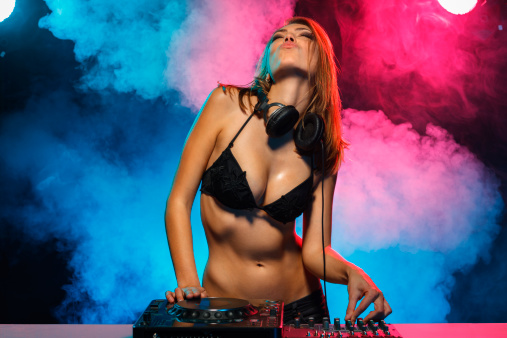 Topless Female DJ's