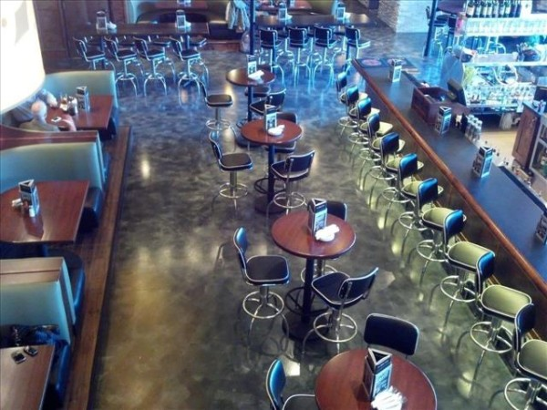melbourne restaurant bar concrete coatings